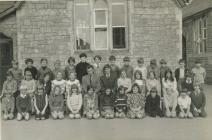 Y Bontfaen school, Cowbridge 1972