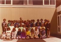 Y Bontfaen primary school, Cowbridge 1974