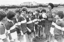 Y Bontfaen school rugby team 1976