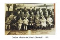 Y Bontfaen school, Cowbridge 1929