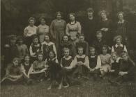 Cowbridge Girls' High School - boarders 1912