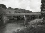 Bridge over the Afon Dyfi at Mathafarn
