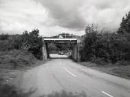 Railway bridge at Cemmaes Road, Machynlleth