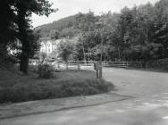 The road bridge over the Afon Angell, Aberangell