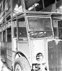 Double deck bus under construction, Saunders...