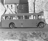 Crosville bus. Fryars, Beaumaris, Anglesey