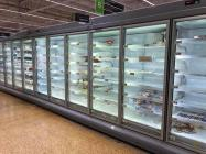Empty Shop Shelves, Freezer Aisle, Asda Coryton...