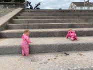 Social Distancing Toddlers, 2020