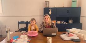 Working from home, COVID 19, 2020