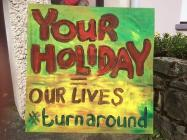 Your Holiday Our Lives #turnaround, Newport,...
