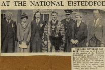Opening of the 1938 National Eisteddfod, Cardiff