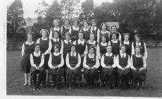 Bridgend County School (Girls) 6th form July 1933