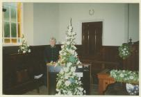 Wedding at Hyssington Methodist Church, 1995,...