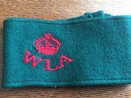 Mary Bott, Women's Land Army Armband