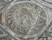 Four Seasons Mosaic detail – cupid with torch...