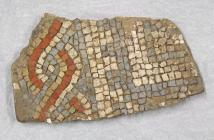 Mosaic fragment from House 12 South