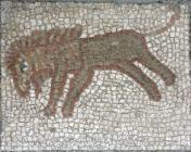 Four Seasons Mosaic detail – Lion