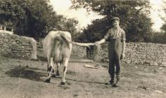 Alun Jones at Penwenallt, Newcastle Emlyn 1935