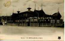 Mers-les-Bains postcard sent to Carmarthen in...