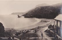 Llangrannog Beach and Dinas Lochtyn early RP by...