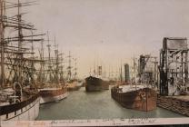 Postcards and Photographs of Barry Docks, c.1900s