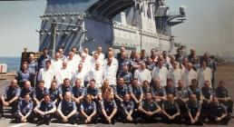 Edward Evans HMS Ocean Logistic Department