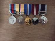 Edward Evans (1964-). Medals