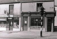Dillwyn Street, Oxford Street isaf, Abertawe, c...