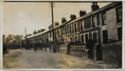 County Road, Penygroes 1928