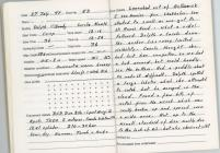 Dive Log - Skokholm 27th July 1997