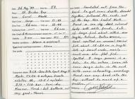 Dive Log - St Brides Bay 26th August 1997