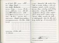 Dive Log - High Point, St Brides Bay 5th...