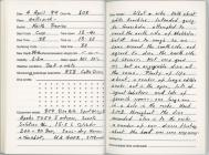 Dive Log - North Wall, Skomer 4th April 1999
