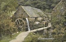 The production process - Fulling Mill Postcard,...