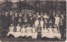 Ysgol Brongest Schoolchildren 1909