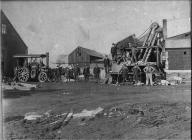 Marshall steam engine and stone crusher,...
