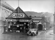 The exterior of West Wales Garage, Aberystwyth,...