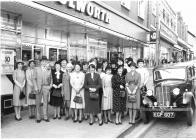 Woolworths employees 1980's, Aberystwyth