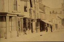 High St, Cowbridge, north side early 1900s