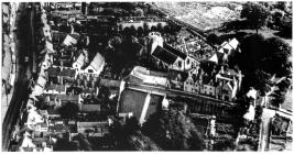 Aerial view, central Cowbridge, Sept 1929