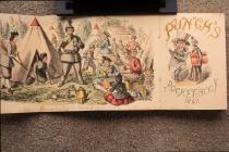 Punch pocket book of 1861