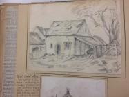 Ruined chapel, Nash, nr Cowbridge 1864