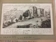 Llanblethian castle, nr Cowbridge 1741