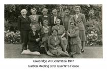 WI 1947 at St Quentin's, Llanblethian, nr...