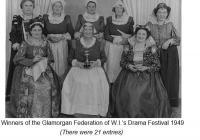 WI Drama Festival, Cowbridge - winners 1949