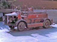 The Cowbridge Dennis Ace fire engine, buit 1936