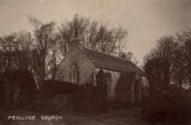 Penllyn church, nr Cowbridge, 1923