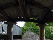 Cowbridge cattle market and town wall