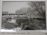 Weir by cement works, Aberthaw, nr Cowbridge