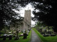 Llanblethian church, near Cowbridge